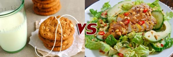 อาหารอินเตอร์ vs อาหารไทย